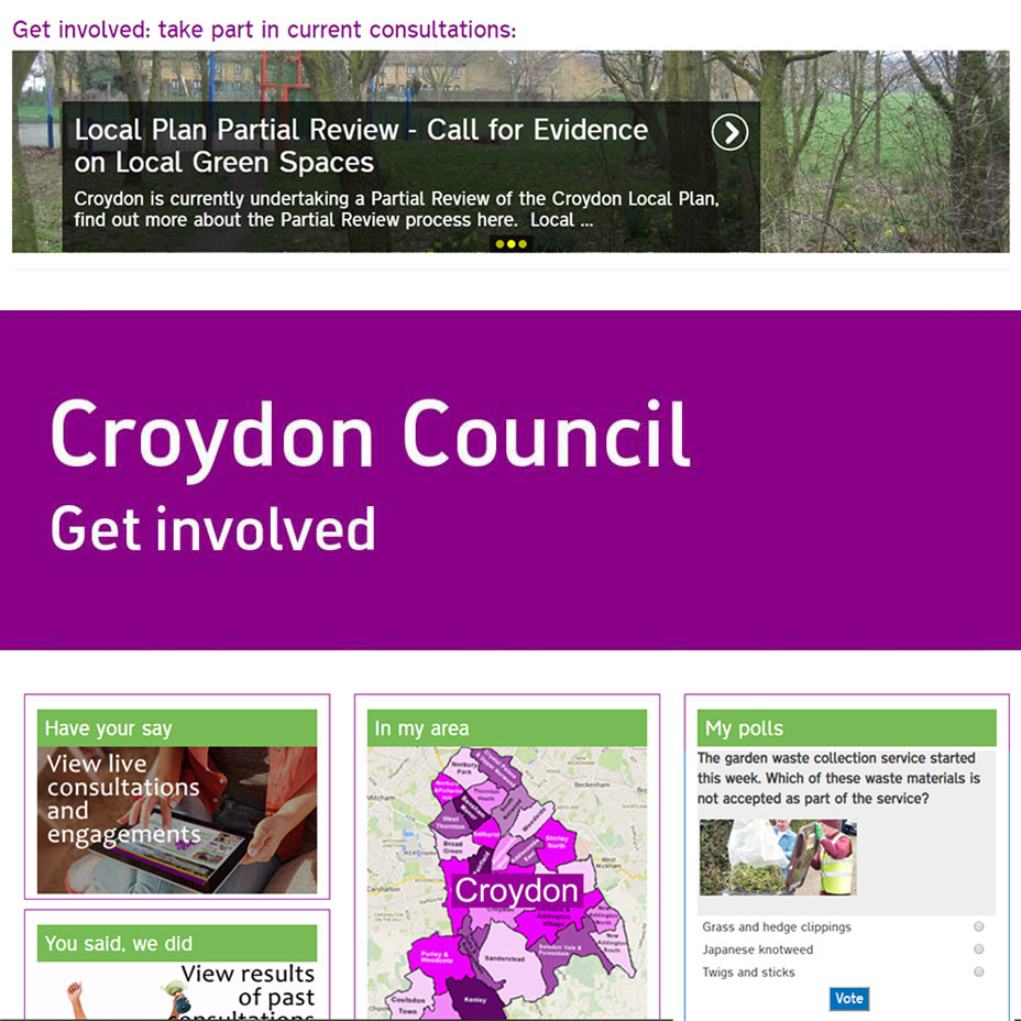 Get Involved Croydon